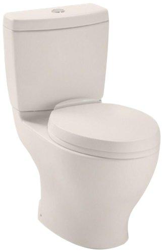 Toto CST412MFNo.12 Aquia Dual Flush Toilet, 1.6-GPF and 0...