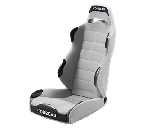 (Axial AX80080 Corbeau LG1 Seat (2-Piece), Grey)