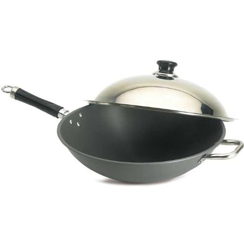 Grill Fire Magic Baskets (Fire Magic Wok With Stainless Steel Cover 3572)