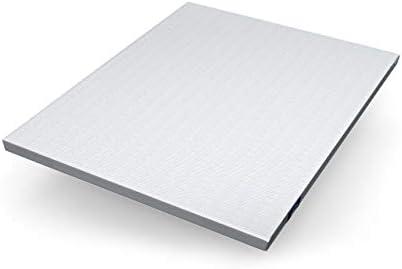 Genius Eazzzy Topper 160 x 200 cm – Protector de colchón para colchón y cama con somier – Protector viscoelástico – Protector de colchón para ...