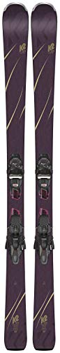 K2 Tough Luv Ski with ERC 11TCx Light Quikclik Binding 2019 - Women's 146 (Luv Skis)