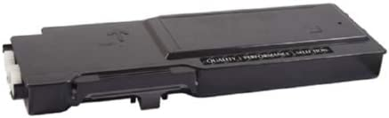 SuppliesMAX Compatible Replacement for Dell C3760DNF//C3765DNF Black Toner Cartridge 11000 Page Yield 593-11115