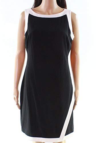 (Ralph Lauren Women's Silk Crepe Button-Down Shirt (S, Polo Black))