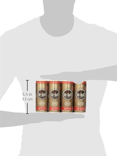 Hiball Energy Cold Brew Coffee Beverage, Mocha, 12 Count