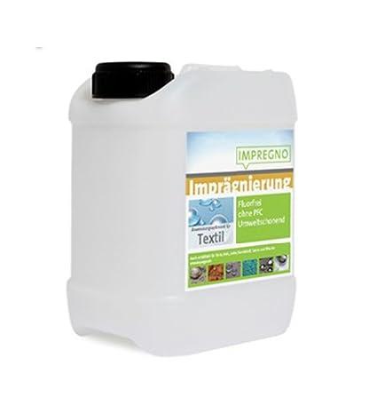 IMPREGNO Imprägnierung Textil 2,5 Liter Imprägniermittel Schutz Pflege fluorfrei umweltfreundlich Waterproof