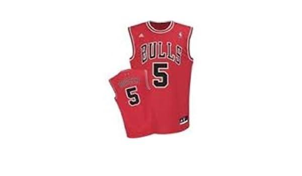 Adidas Chicago Bulls NBA réplica Baloncesto Jersey Chaleco - Carlos Boozer # 5 - Mens Grande - NWT: Amazon.es: Deportes y aire libre