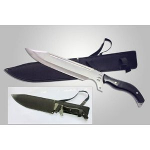 Zombie Killer Giant Fixed Blade Tactical Bowie Knife 21″, Outdoor Stuffs