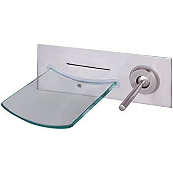 Ouku Wall Mount Contemporary Vessel Sink Bathroom Faucets