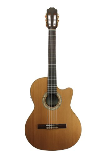 Kremona S63CW Performer Series Acoustic/Electric Nylon String Guitar