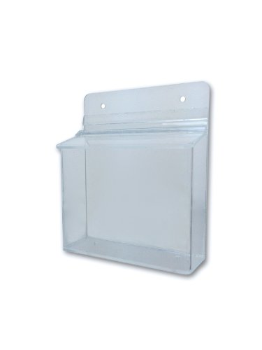 Marketing Holder 6''w x 4''h Outdoor Postcard or CD Holder Display by Marketing Holders