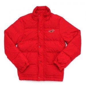 Hollister de plumón de Pared para Abrigos para Hombre de Color Rojo Talla UK tamaño Mediano: Amazon.es: Ropa y accesorios