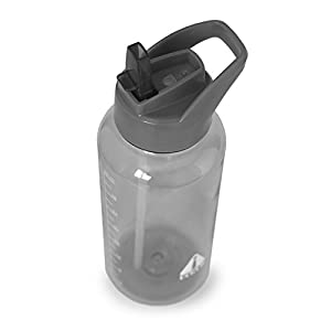 UCGYM SPORTS WATER BOTTLE WITH STRAW AND HANDLE (UCgym Grey)