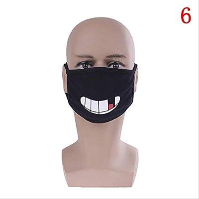 FSYX Mascarilla Caliente Unisex Lindo Polvo Máscara Algodón Máscara Lindo Anime Dibujos Animados Máscara De Oso 6: Amazon.es: Belleza