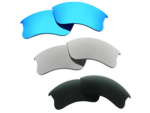 3 Pairs Polarized Replacement Sunglasses Lenses for Oakle...