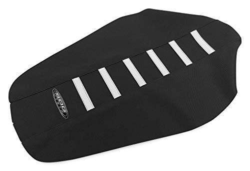 SDG USA 6-Rib Gripper Seat Cover - Black/White Rib ()