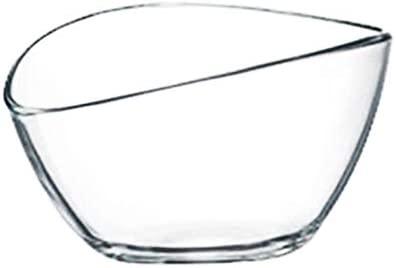 12 UNIDS yogur beta Bowl vidrio claro tazón de fuente ...
