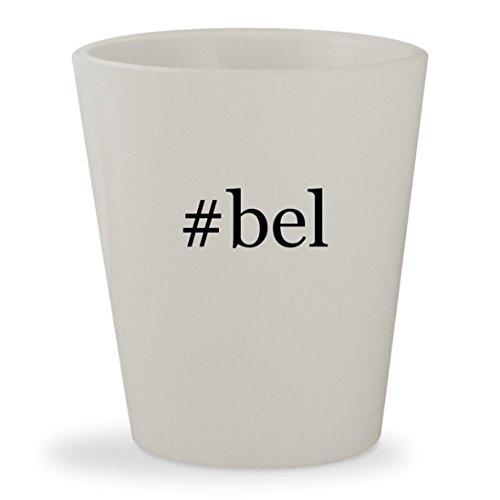 #bel - White Hashtag Ceramic 1.5oz Shot Glass