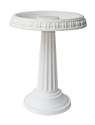 - Bloem Grecian Bird Bath with Pedestal, 24