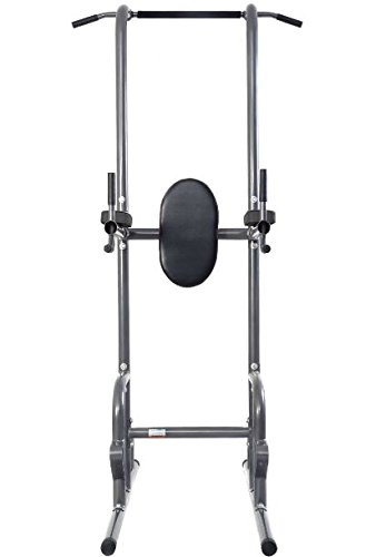 K&A company Up Dip Station Chin Tower Rack Pull Stand Weight Raise Home Bar Workout Gym Heavy Duty