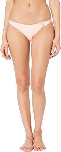 Body Glove Women's Smoothies Basic Solid Fuller Coverage Bikini Bottom Swimsuit, Splendid, Large ()