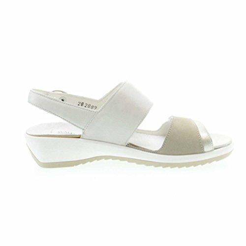 Waldläufer Ginger 225006300965 Womens Sandal, Beige 3.5 UK