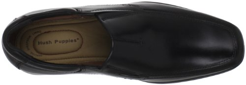 Hush Puppies Quatro Slip On BK - Men's