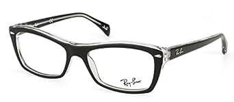 Ray Ban Montura de Gafas RB 5255 2034 negro 53MM