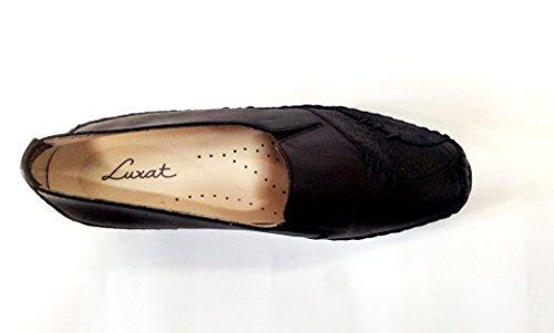 Durino Noir Luxat Pour Modèle Mocassin Femme Souple 45zzaq8f