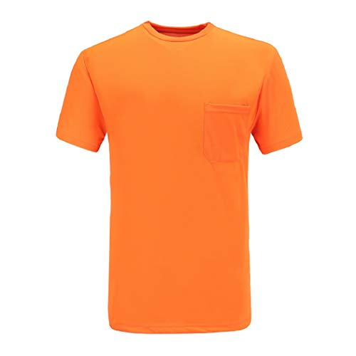A-SAFETY Safety Orange T-Shirt - In Your Choice Of Sizes Orange, -