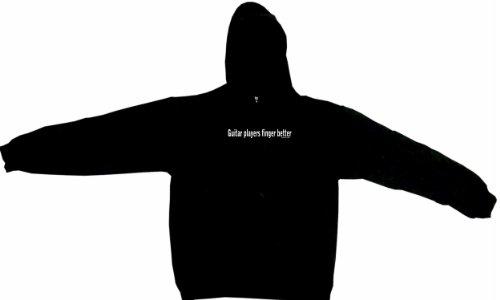 Guitar Players Finger Better Men's Hoodie Sweat Shirt XXXXXL (5XL), Black