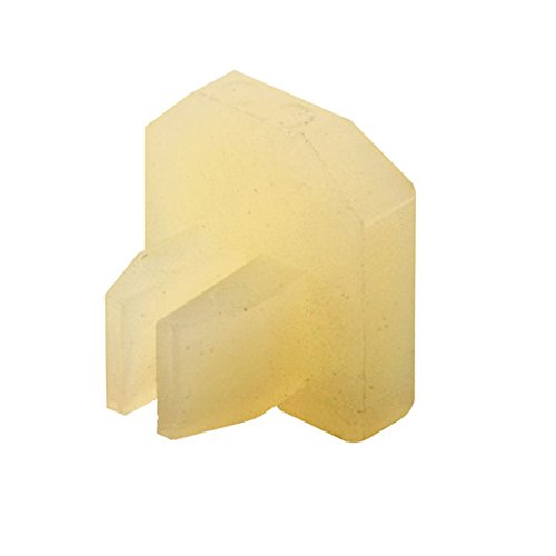 Prime-Line Products D 1717 Sliding Door Top Guide, Anti-Rattle Button, Nylon,(Pack of 4)