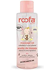 Roofa Massage Baby Oil with Calendula and Sweet Almond - 100 ml