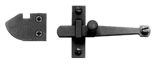 Acorn AL9BR 4Bar Latch Set with Rim Strike - Black Iron Acorn Manufacturing Co LYSB0009TCL68-ELECTRNCS