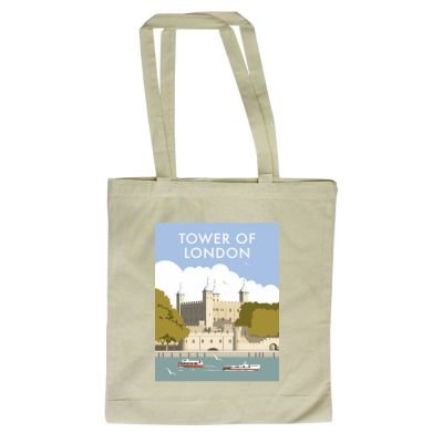 illustrator Bag 420mm x of Shopper of London Tower Dave By with Thompson design Art247 Tote 380mm A1gqB
