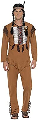 Smiffys Smiffys-45509XL Disfraz de Guerrero Inspirado por los ...