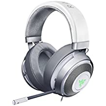 Razer Kraken 7.1 V2: 7.1 Surround Sound -  Retractable Noise-Cancelling Mic - Lightweight Aluminum Frame - Gaming Headset Works with PC, PS4, Xbox One, Switch, & Mobile Devices - Mercury