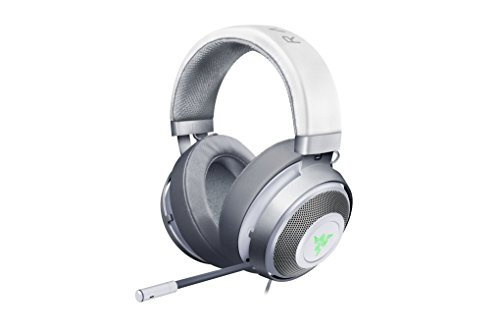 Razer Kraken 7.1 V2: 7.1 Surround Sound - Retractable Noise-Cancelling Mic - Lightweight Aluminum Frame - Gaming Headset Works with PC & PS4  - Mercury