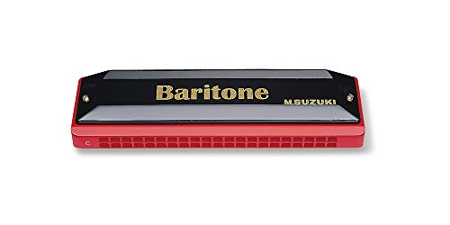 Suzuki BR-21-C Baritone Harmonica, Key of C (Suzuki Ensemble Harp)