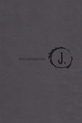 Jesus-Centered Bible NLT, Charcoal from Group Publishing