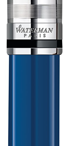 Waterman Expert Deluxe Blue Obsession CT Ballpoint Pen (1904593) by Waterman (Image #1)