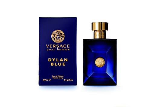 VERSACE Pour Homme Sealed Dylan Blue Eau de Toilette, 3.4 Ounce
