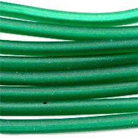 Soft Glass Tubing 2.5mm Emerald (10 Foot Piece) (Soft Glass Tubing)