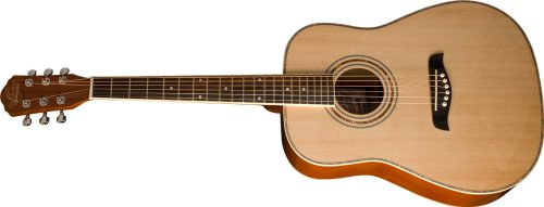 Oscar Schmidt OG1 Left-Handed 3/4-Size Acoustic Guitar - Natural (Best Budget Acoustic Guitar)