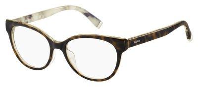 Max Mara - MM 1267, Cat Eye, optyl, women, HAVANA PATTERN WHITE(UXM), - Mara Cat Eye Frames Max