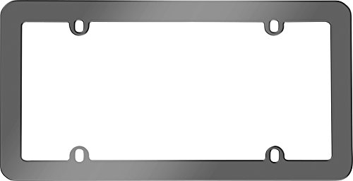 Cruiser Accessories 20820 Anodized License Plate Frame, Gray