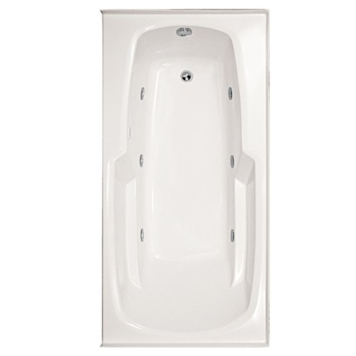 Hydro Systems ENT6032GCO-WHI-RH-WOV.PC Entre Gel Coat Tub with Combo System (Right Hand Drain Included), White/Polished Chrome - Combo Right Hand Gel