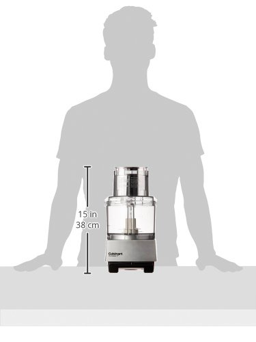 Cuisinart dlc-8sbcy Pro Custom 11-cup procesador de alimentos, cromo cepillado: Amazon.es: Hogar