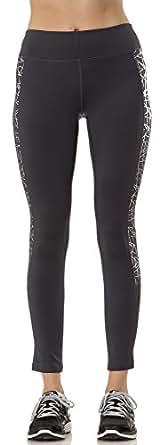 (L3W425) Layer 8 Womens Metallic Print Cold Gear Pant in Dk. Grey Size: M