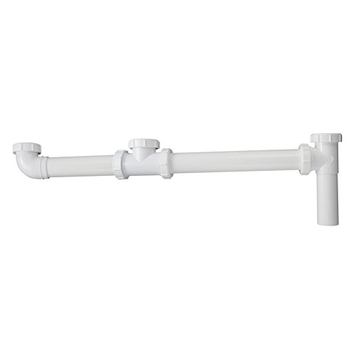 1 1/2'' End Outlet Continuous Waste for Triple Bowl Sinks