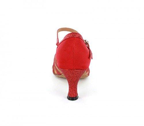 Joymod e EU MGM 35 Red Moderno 6cm Donna Rosso Jazz Heel Style2 ZqdUdpw